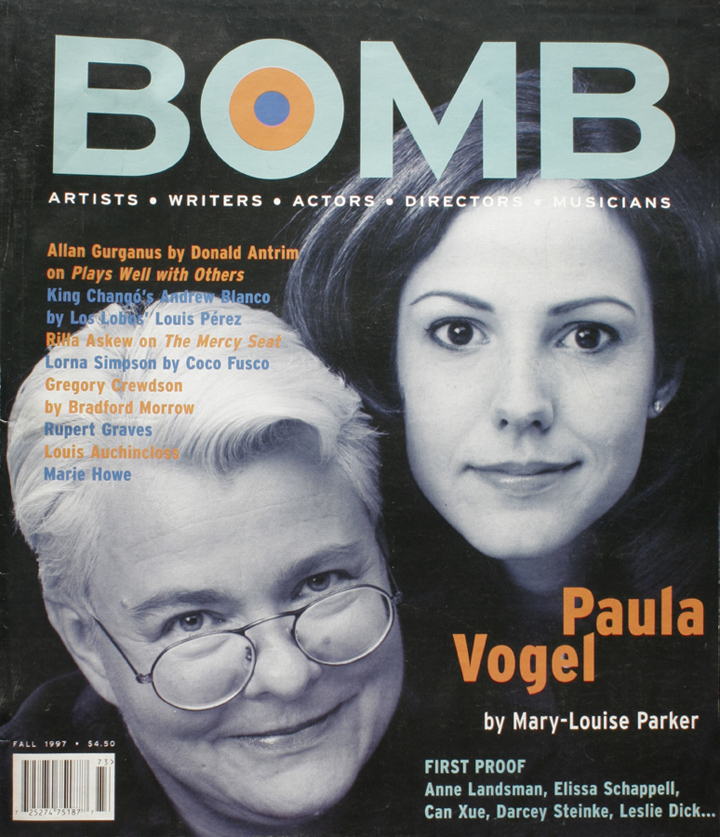 The cover of BOMB 61