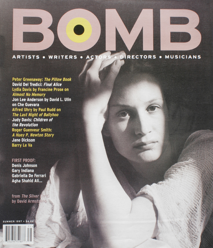 The cover of BOMB 60