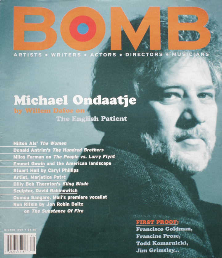 The cover of BOMB 58