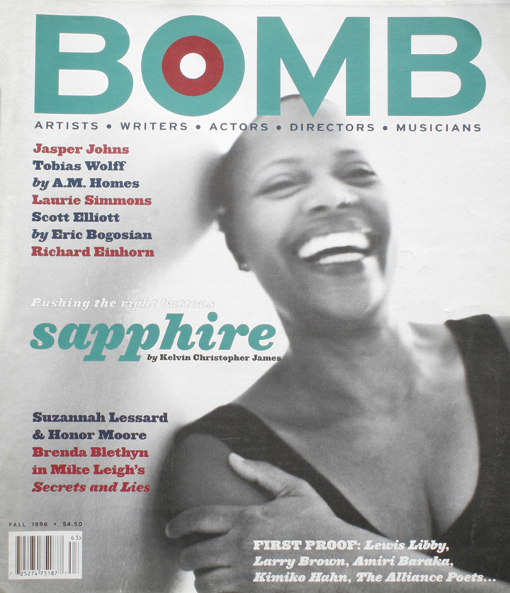 The cover of BOMB 57