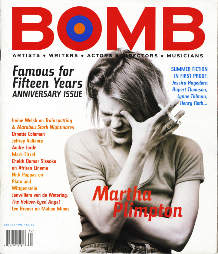 The cover of BOMB 56