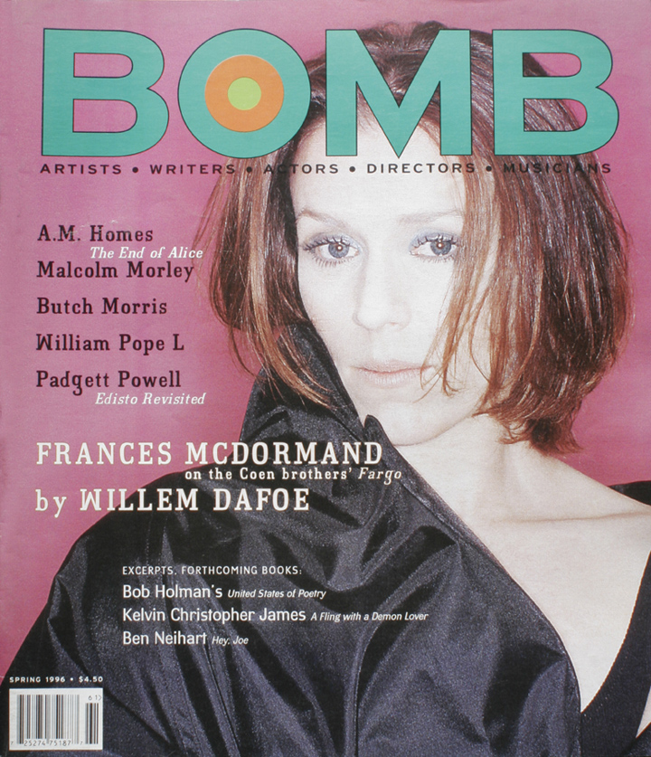 The cover of BOMB 55