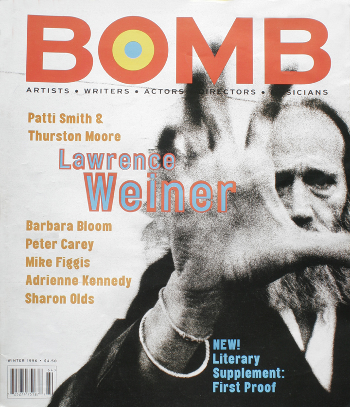 The cover of BOMB 54