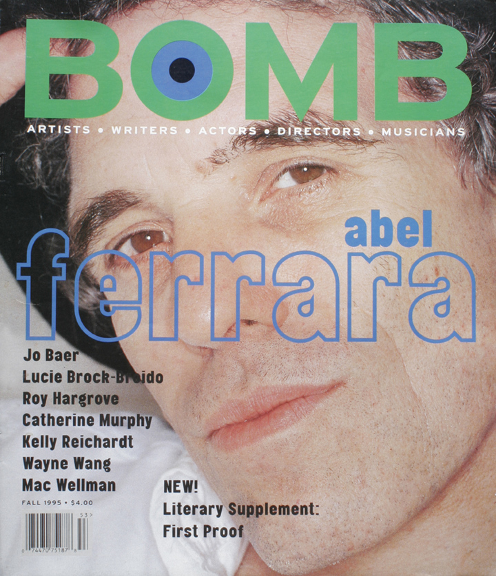 The cover of BOMB 53