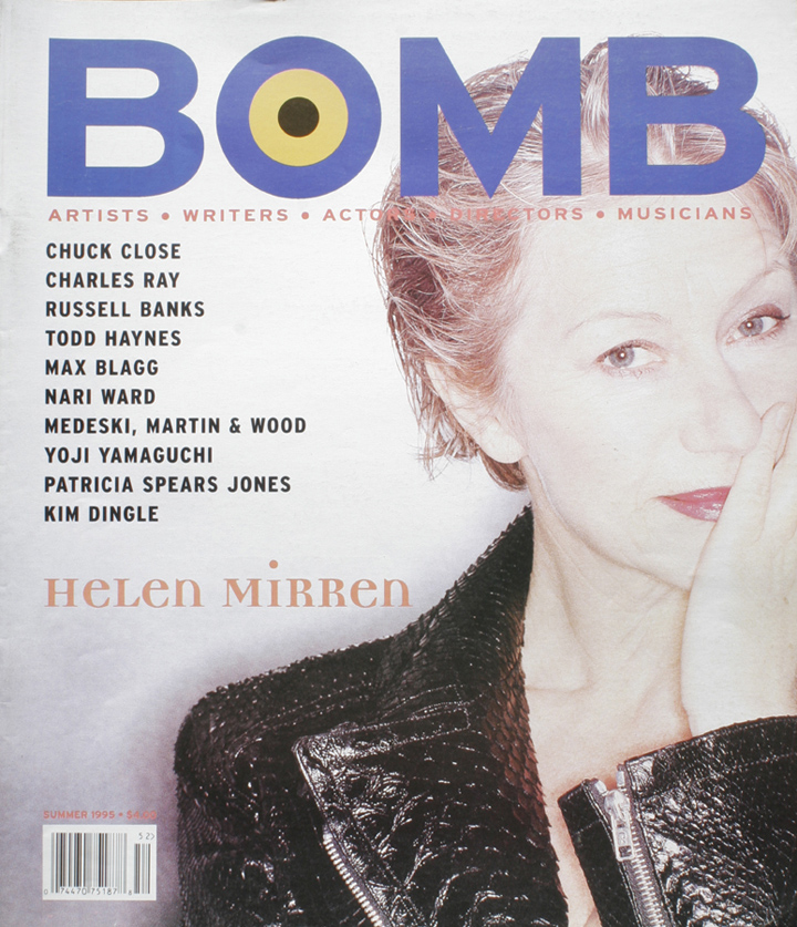 The cover of BOMB 52