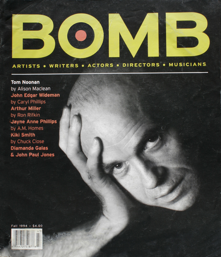 The cover of BOMB 49