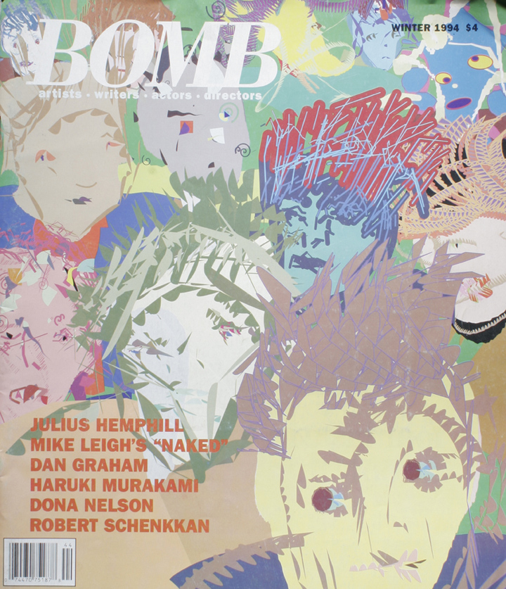 The cover of BOMB 46