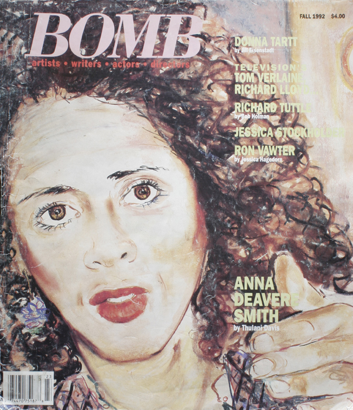 The cover of BOMB 41