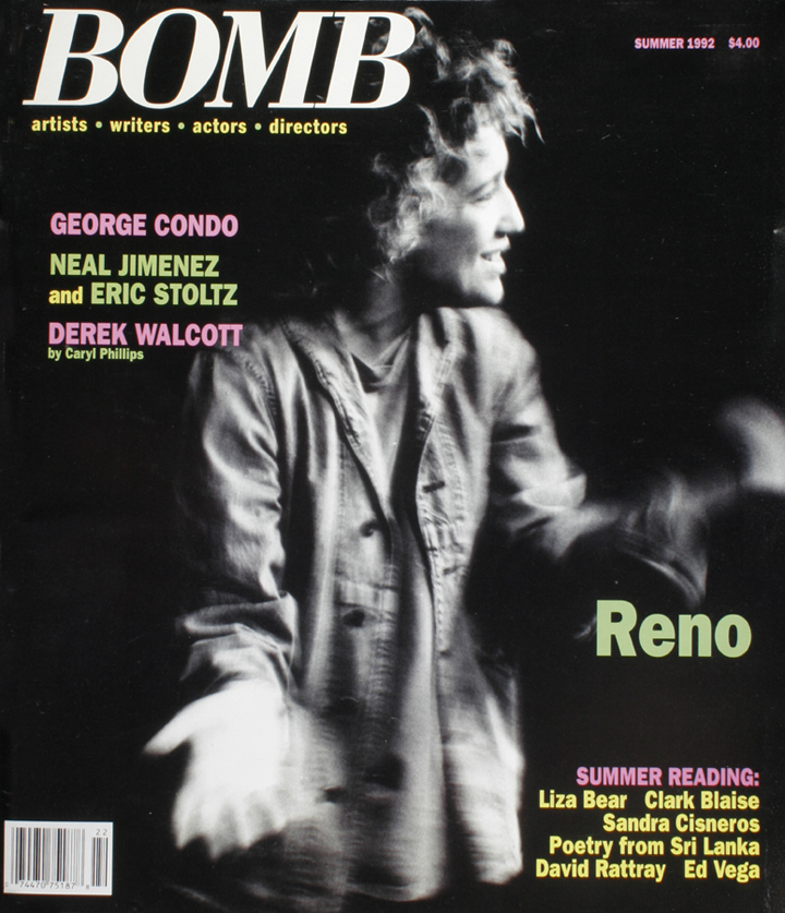 The cover of BOMB 40