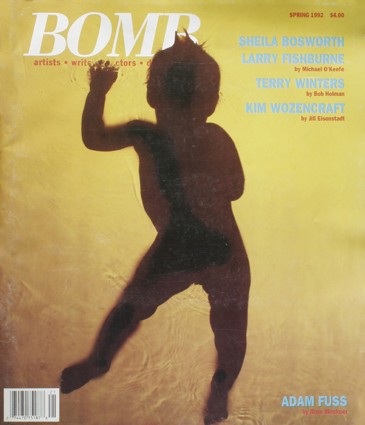 The cover of BOMB 39