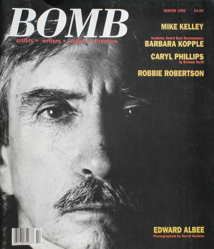 The cover of BOMB 38