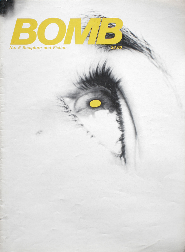 The cover of BOMB 6