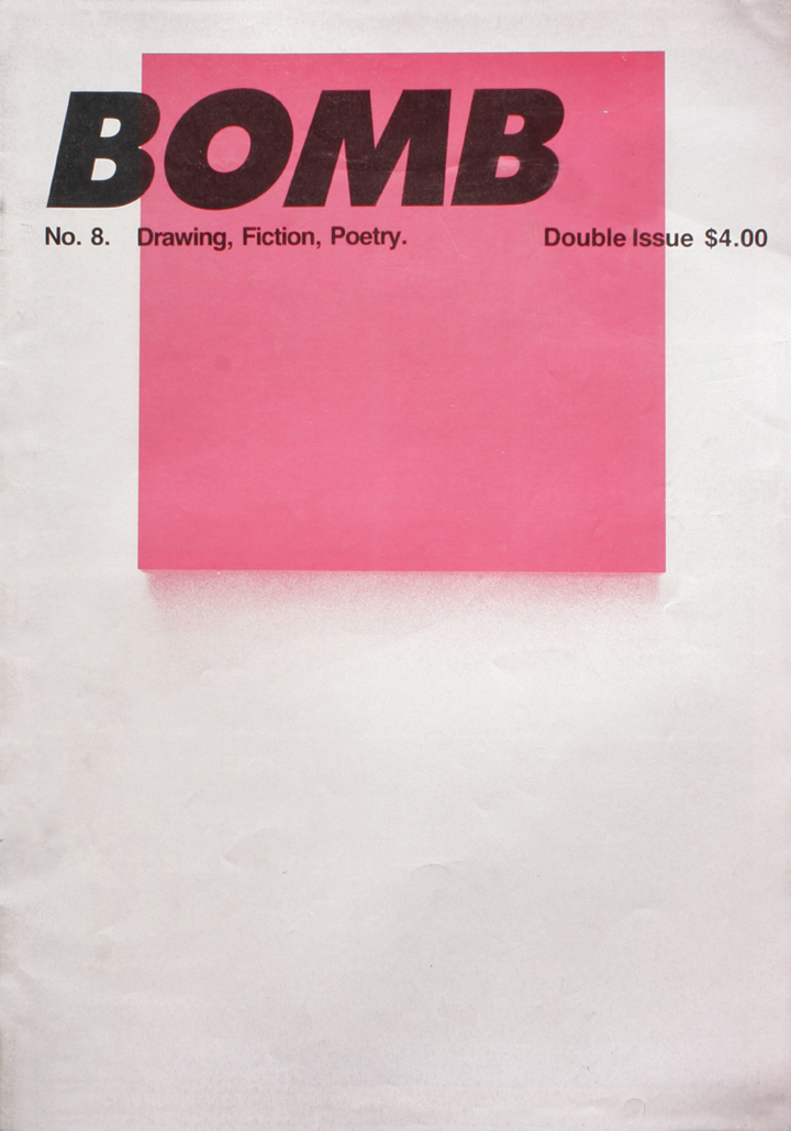 The cover of BOMB 8