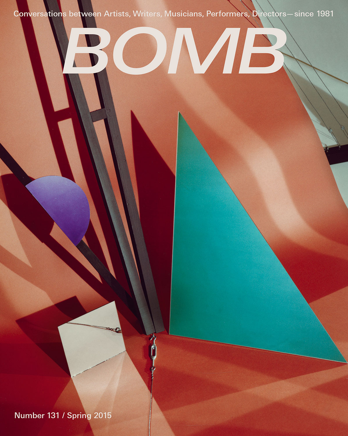 The cover of BOMB 131