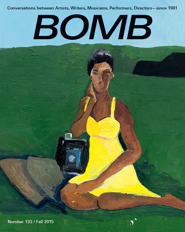 The cover of BOMB 133