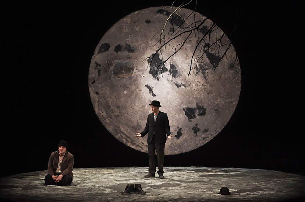 a literary analysis of estragon and vladimir in waiting for godot Letters from samuel beckett about waiting for godot 27 on and  estragon and vladimir wait on the same spot for godot  much leeway as to interpretation.