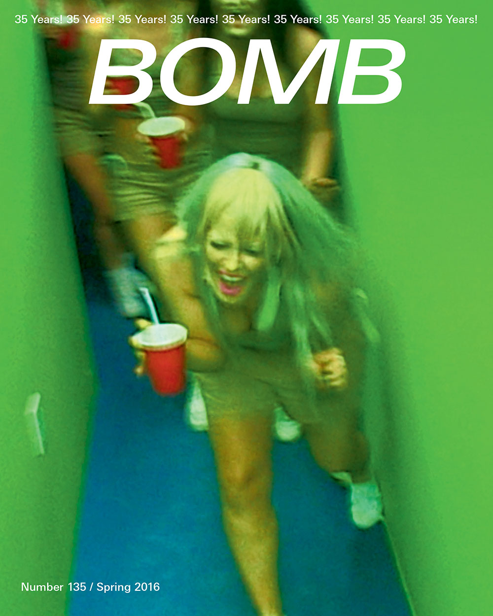 The cover of BOMB 135
