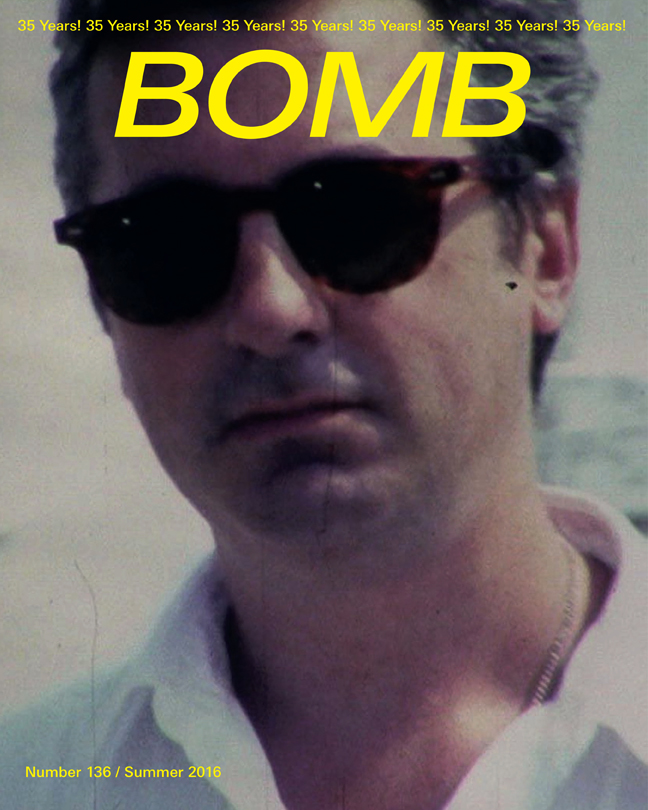 The cover of BOMB 136