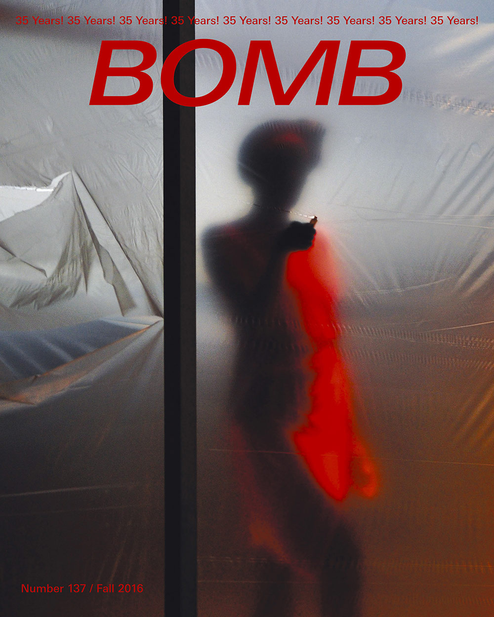 The cover of BOMB 137