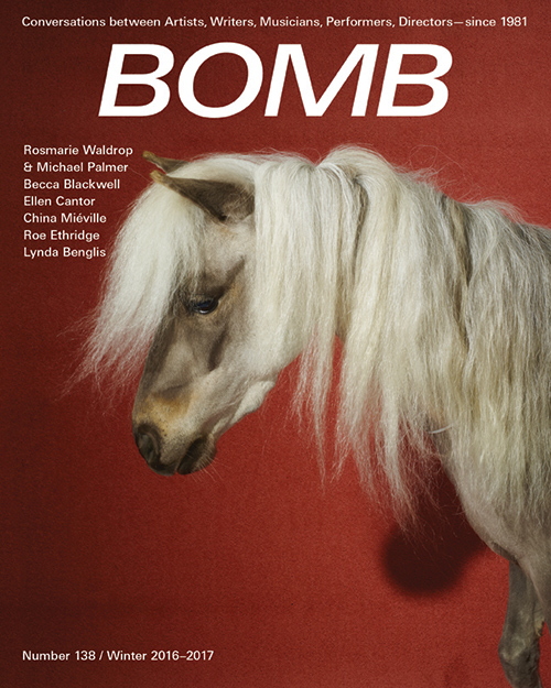 The cover of BOMB 138