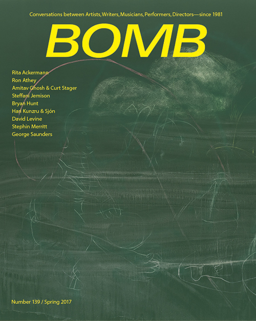 The cover of BOMB 139