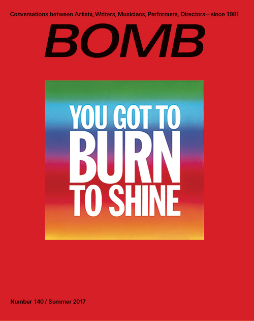 The cover of BOMB 140