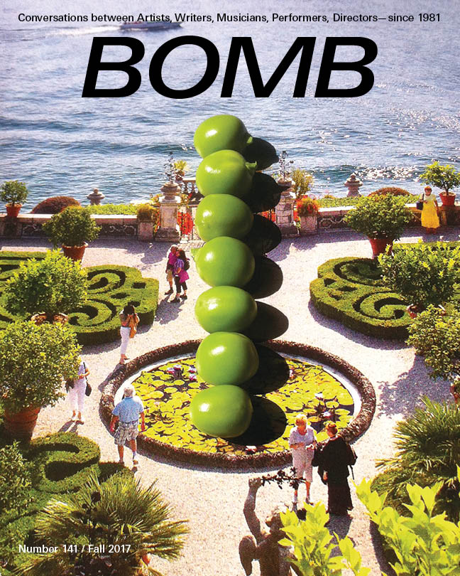 The cover of BOMB 141