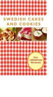 Swedish Cakes and Cookies by Melody Favish