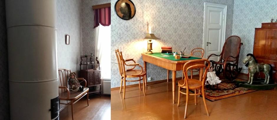 Camera copiilor - Casa Memorială Dostoievski