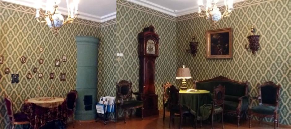 Salon - Casa Memorială Dostoievski