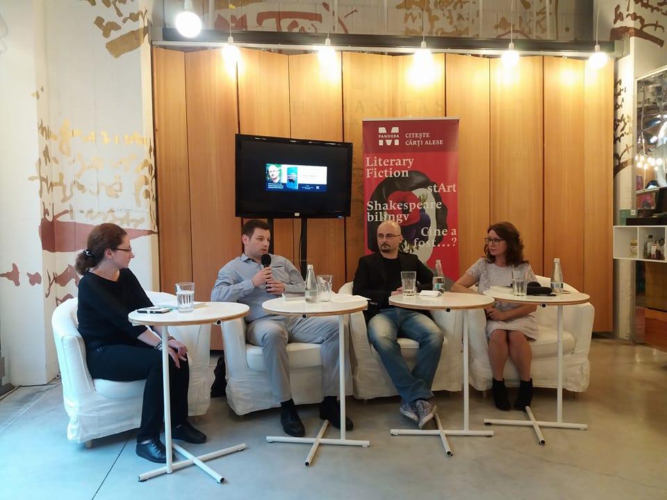 Lansare carte Diavoli fragili Radu Gavan