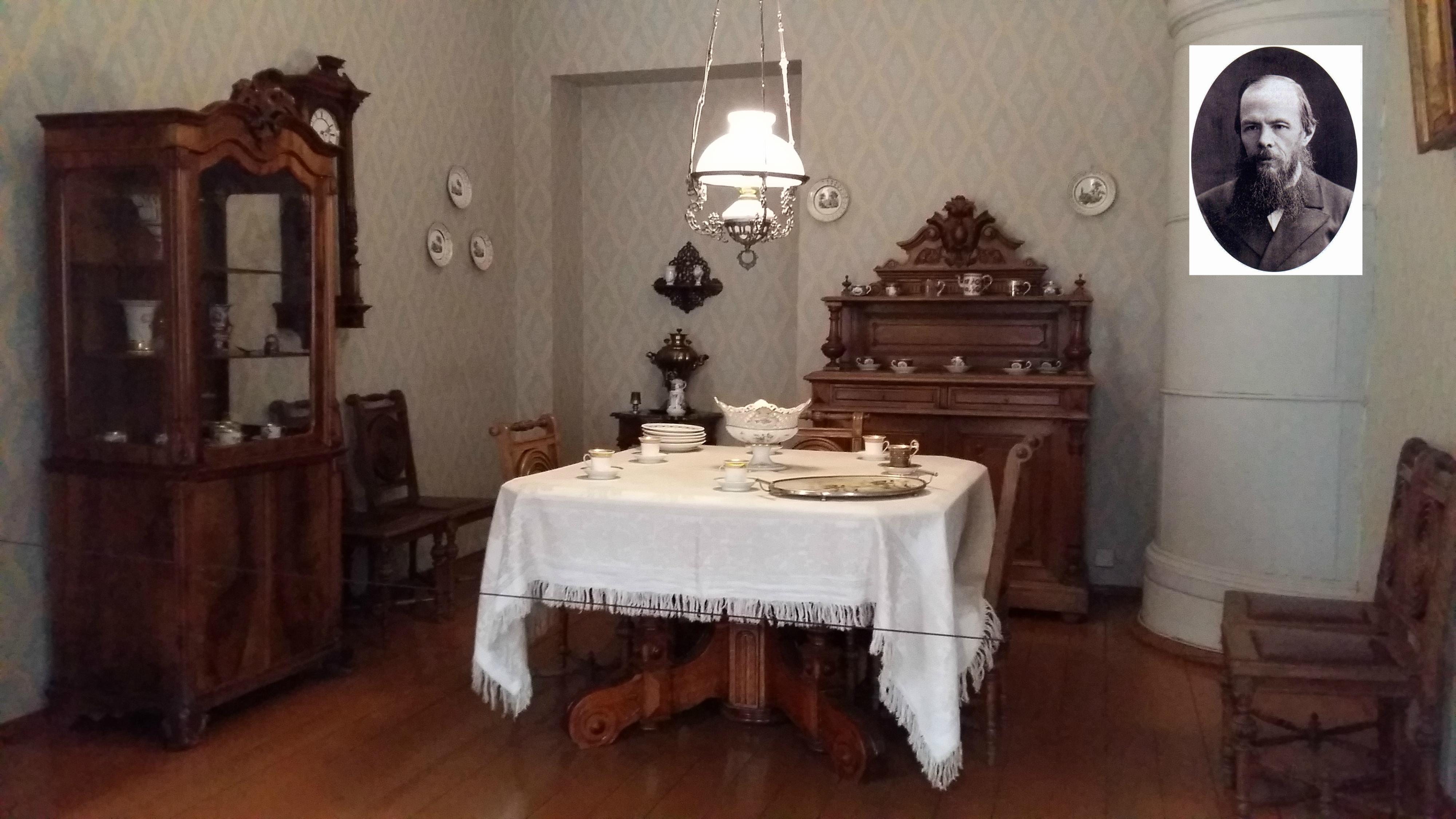Sufragerie Dostoievski - St. Petersburg