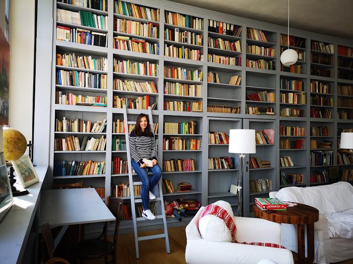Biblioteca Cincșor - Bookish Style