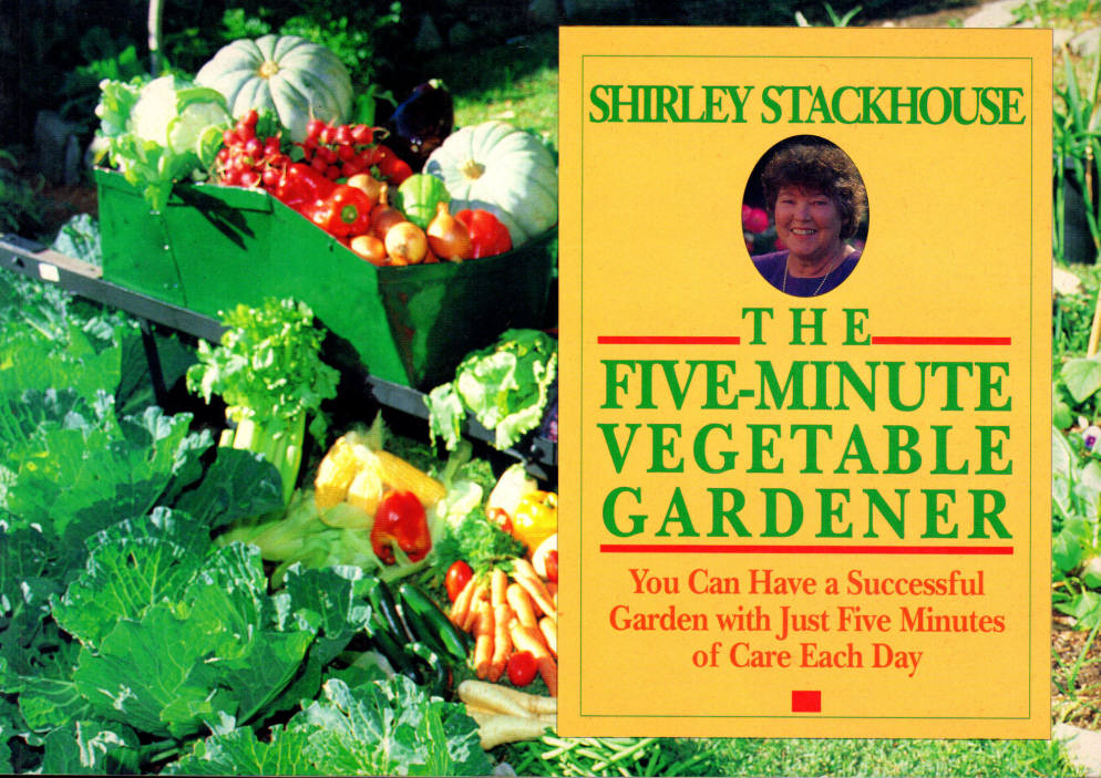 Image for The Five-Minute Vegetable Gardener