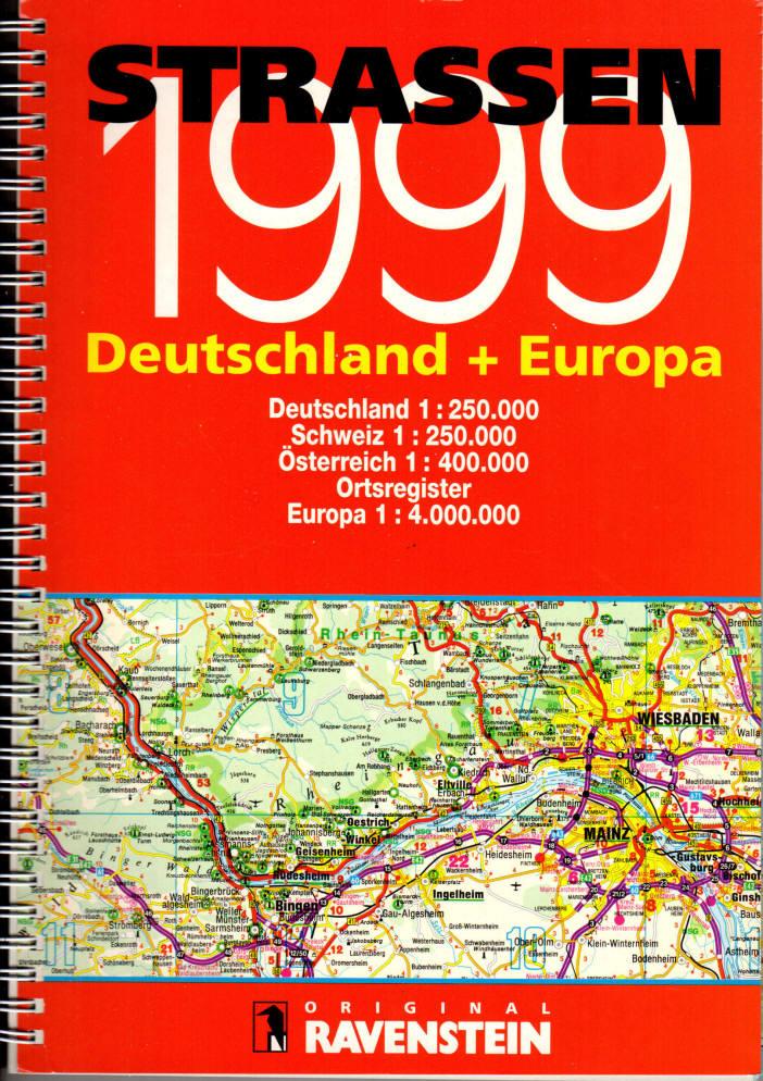 Strassen 1999: Deutschland & Europa, Ravenstein Verlag (Compiler)