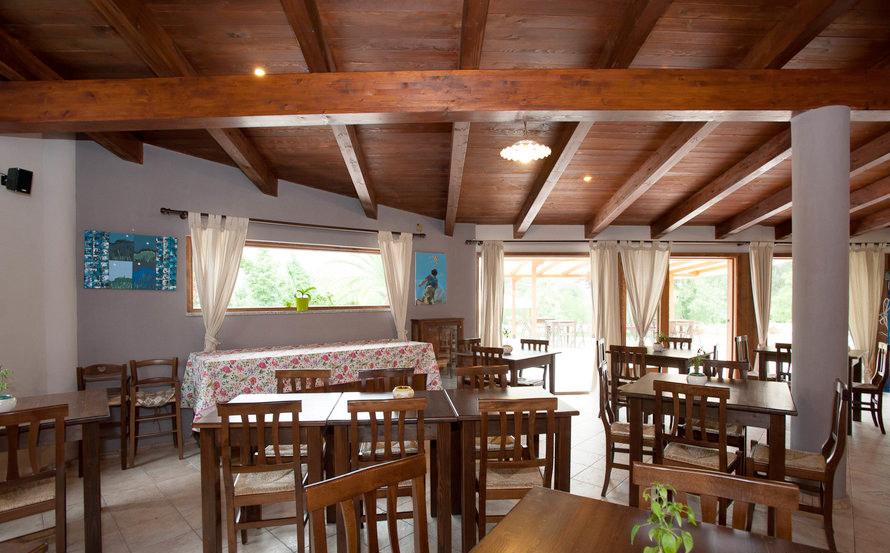 il ristorante dell'hotel borgo antico