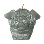 Winged pug candle, £9.99