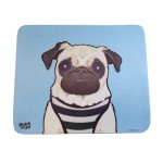 Doug the Pug mousemat, £8.00