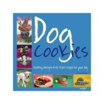 Dog cookies, healthy allergen-free treat recipes, £9.99<