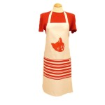 Cat apron with pocket, £18.00<