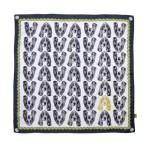 Basset Hound silk scarf, £90.00<