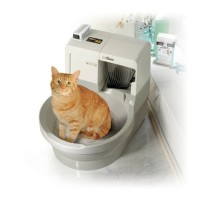 Luxury cat toilet