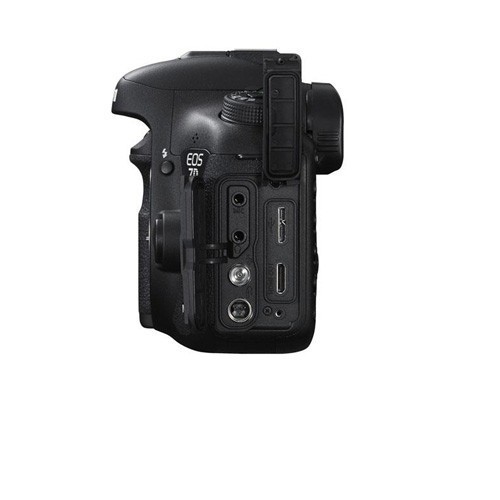 7D MKII Body Connection Ports Image