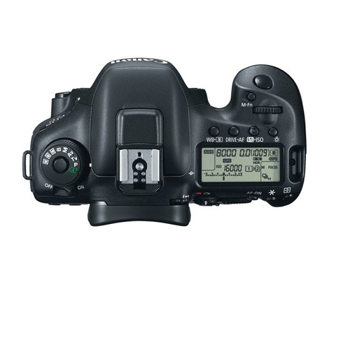 7D MKII Controls Top Display Image