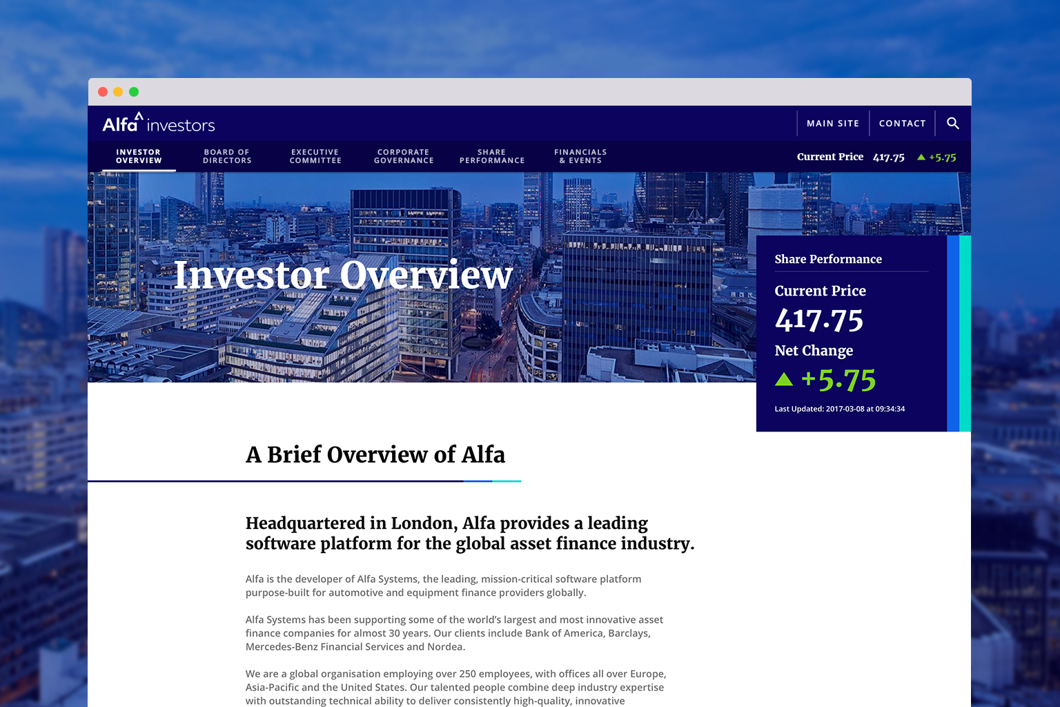 nordea investor app