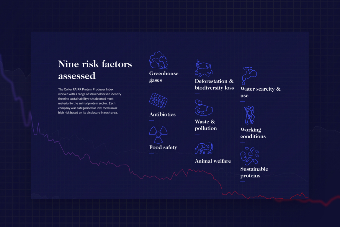 9 risk factors displayed on the homepage