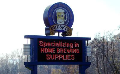 Breski Beverage Storefront