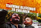 Teaching Blessings to Children