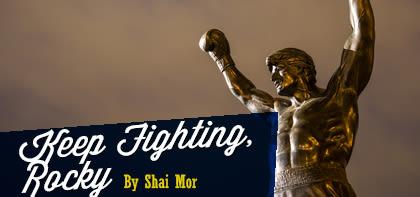 Keep Fighting, Rocky