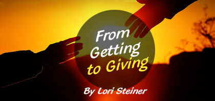 From Getting to Giving